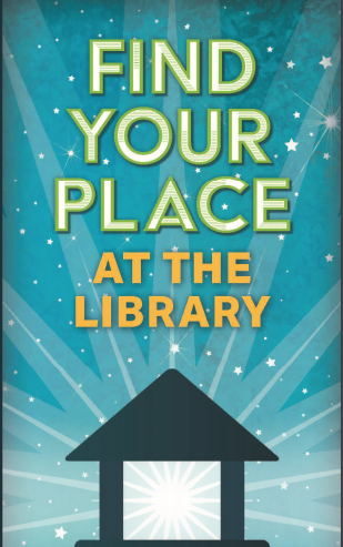 This is a logo for GLA's National Library Week Membership Campaign